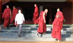 Sherab Lingin munkkeja